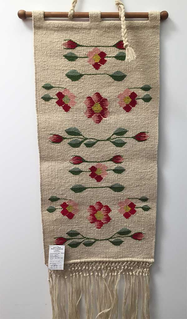 Wall Rug – Romanian Folk Art Decor